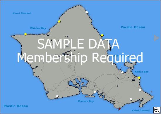 Sailflow Com Hi Oahu Wind Data